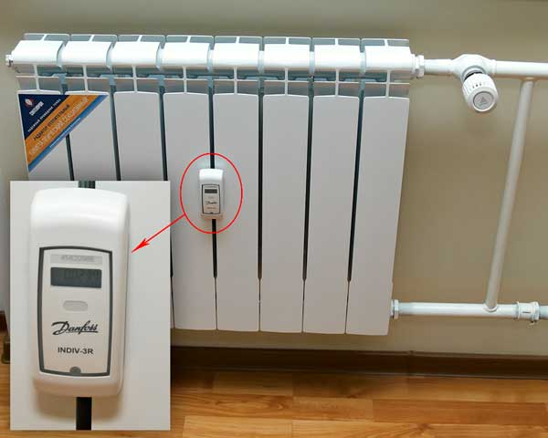 индивидуальный прибор учета тепла