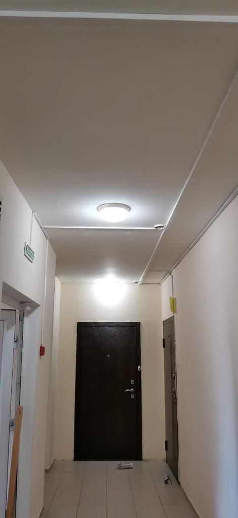 замена светильников МКД №43/1 по ул. Салмышская