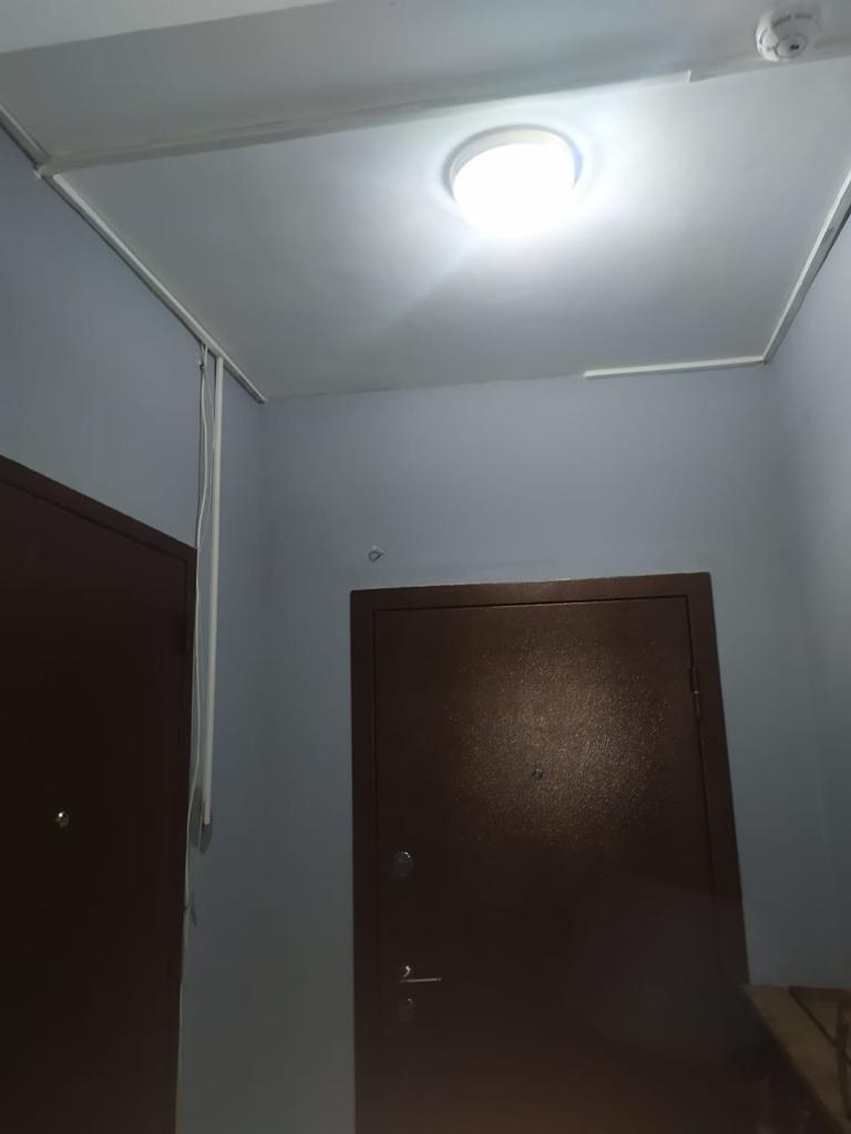 Салмышская 47 замена светильников 3 подъезд