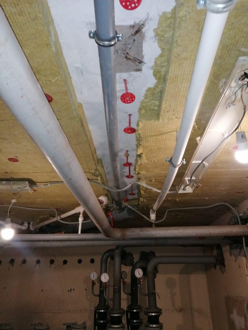 Замена лежака канализации Ямашева 8 подвал
