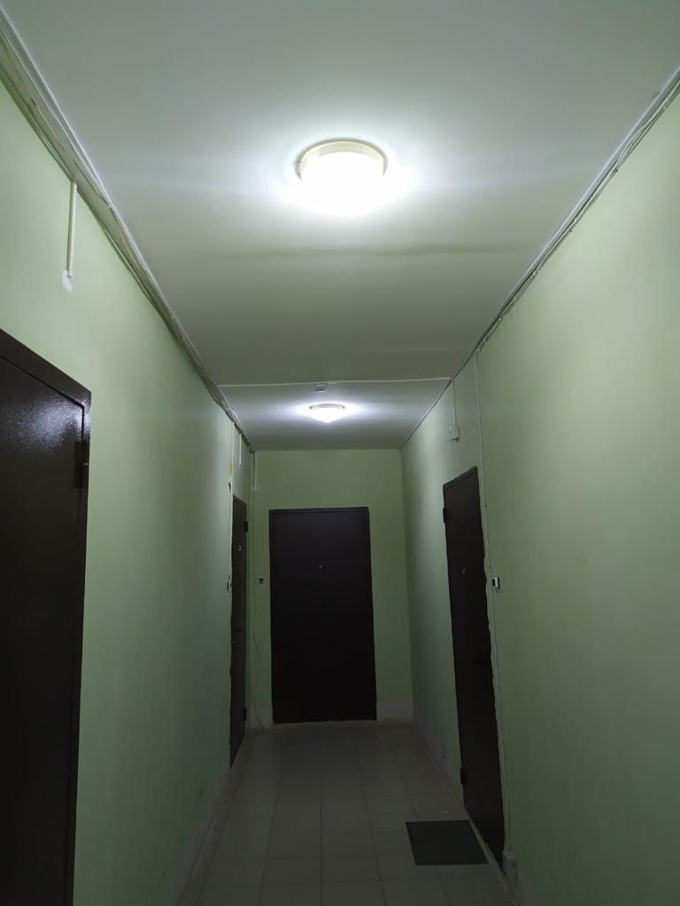 Замена светильников, Салмышская 47