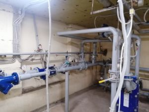 Покраска системы отопления, Ямашева 8