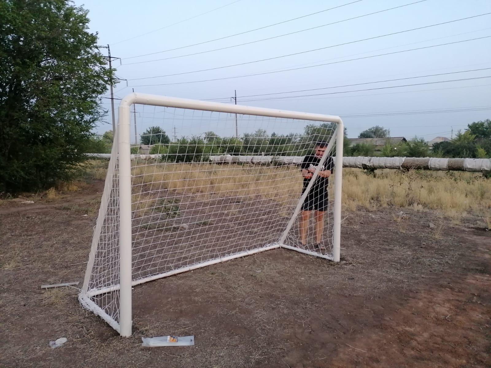 1 ворота готовы Ямашева 8