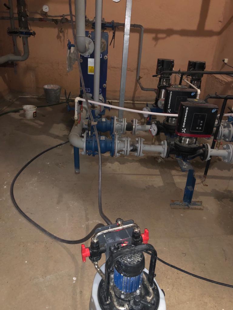 промывка теплообменника системы отопления