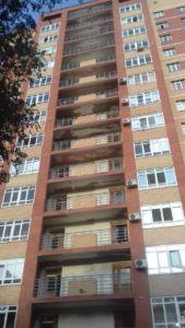 Ремонт балконов, Ямашева 6, 2 подъезд