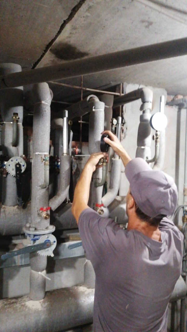Установка манометров на систему отопления Ямашева 6 и Ямашева 6