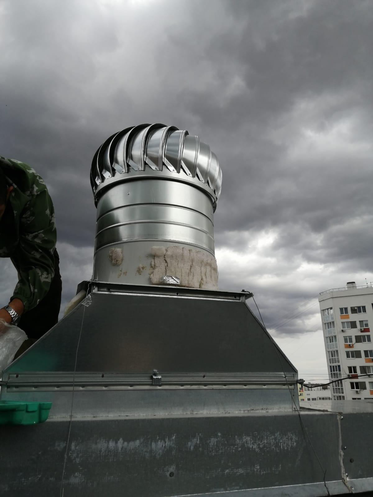 Замена турбодефлекторов, Поляничко 2а
